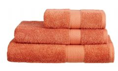Terracotta 100% Cotton Turkish Ringspun Towel 500 Gsm